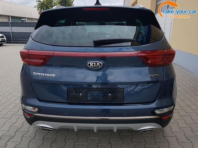 Kia / Sportage / Blau / GT-LINE  /  / Cosmo Blau