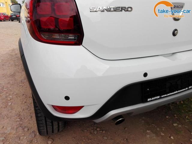 Dacia Sandero Stepway Laureate (Prestige) Navi Einparkhilfe Kamera Klimaauto