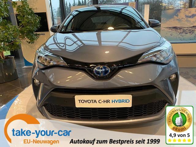 Toyota C-HR - C-LUB 1.8 Hybrid 122PS/90kW CVT 2021 Vorlauffahrzeug