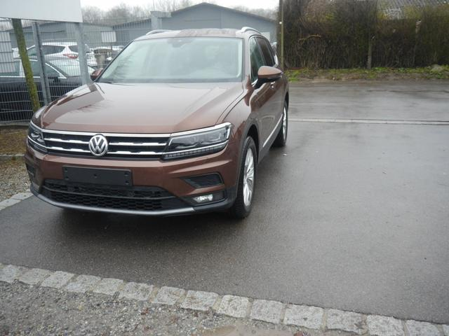 Gebrauchtfahrzeug Volkswagen Tiguan Allspace - 1.4 TSI DSG COMFORTLINE   BMT 7-SITZER ACTIVE LIGHTING SYSTEM NAVI WINTERPAKET