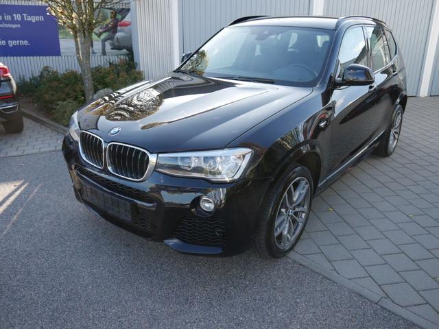 BMW X3      xDrive 20d DPF * M-SPORT & COMFORT-PAKET NAVI XENON HEAD-UP DISPLAY PDC SHZG