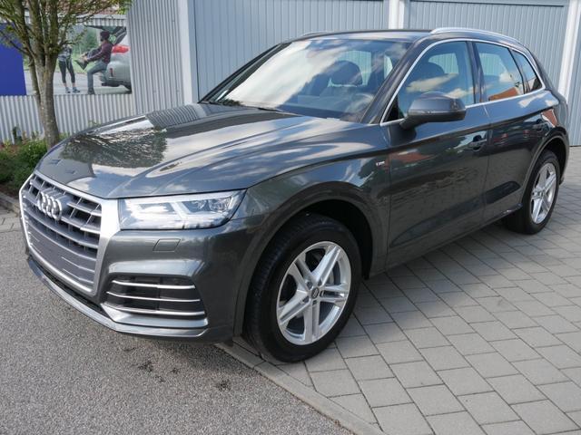 Audi Q5      2.0 TDI DPF SPORT * S-LINE QUATTRO S-TRONIC MATRIX LED NAVI MMI TOUCH 19 ZOLL