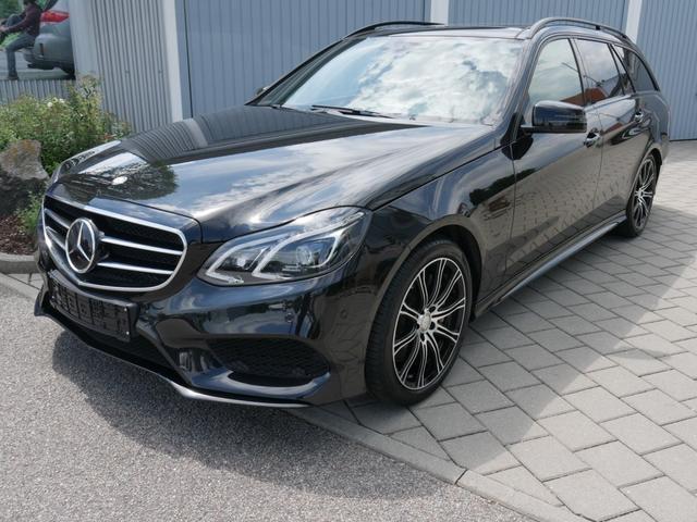 Gebrauchtfahrzeug Mercedes-Benz E-Klasse - E 350 T BlueTEC DPF   9G-TRONIC AMG-SPORT- & ASSISTENZ-PAKET LEDER AHK NAVI 18 ZOLL