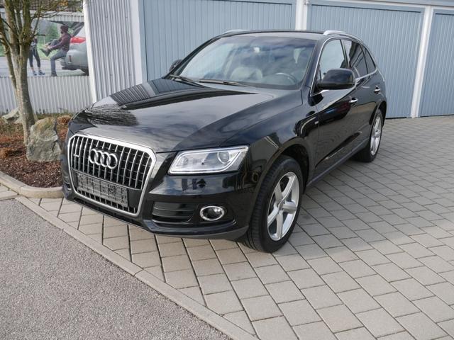 Audi Q5      2.0 TDI DPF clean diesel S-LINE SPORTPAKET * QUATTRO S-TRONIC AHK NAVI XENON SHZG