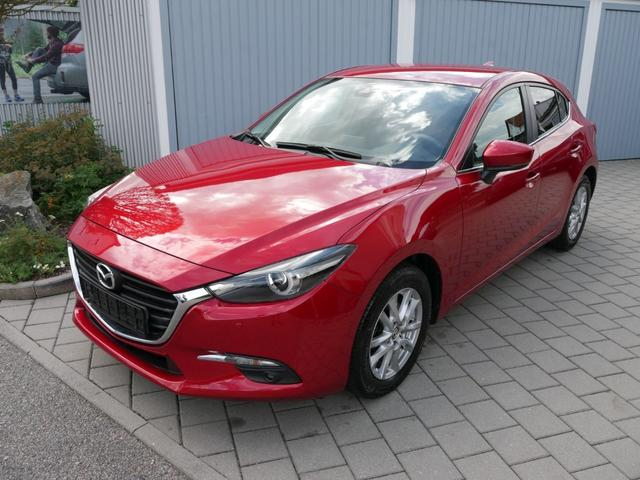 Gebrauchtfahrzeug Mazda Mazda3 5-Türer - 3 SKYACTIVE-G 120 EXCLUSIVE-LINE   TOURING-PAKET LED LENKRAD-& SITZHEIZUNG PDC