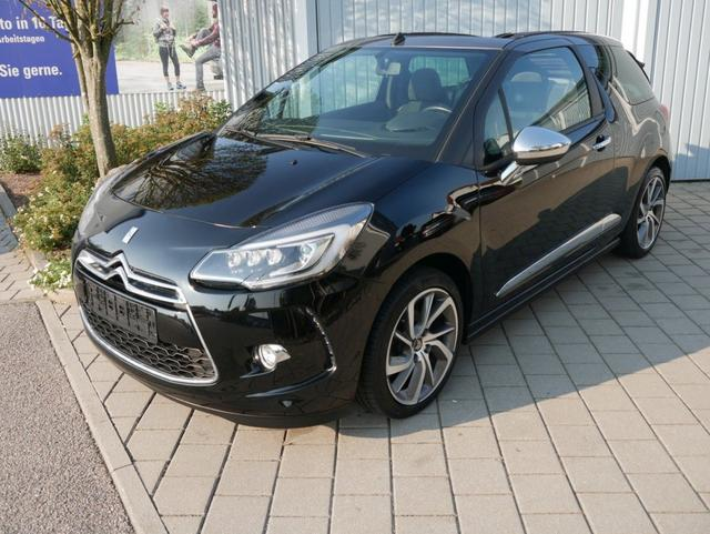 Citroën DS3 Cabrio      DS 3 PureTech 110 SO PARIS * NAVI XENON CONNECTING-BOX PARKTRONIC
