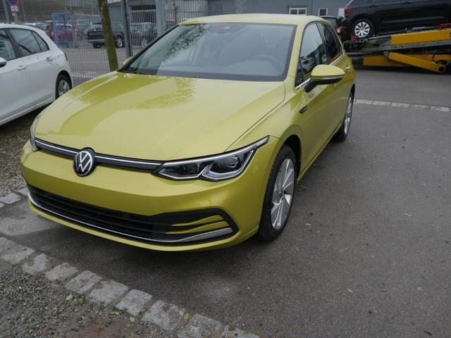 Lagerfahrzeug Volkswagen Golf - VIII 1.5 eTSI ACT DSG STYLE   ACC WINTERPAKET IQ.LIGHT-LED-MATRIX NAVI PDC SHZG VORN & HINTEN