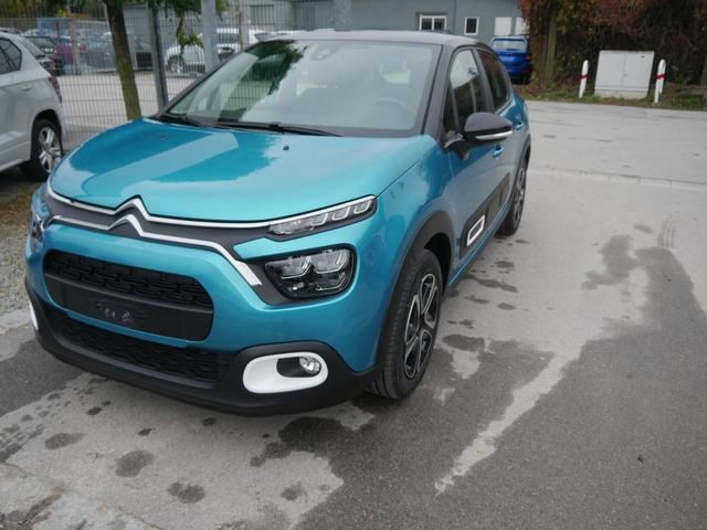 Lagerfahrzeug Citroën C3 - PureTech 82 FEEL PACK   ECO LED MIRROR SCREEN FUNKTION PDC SHZG DACH SCHWARZ