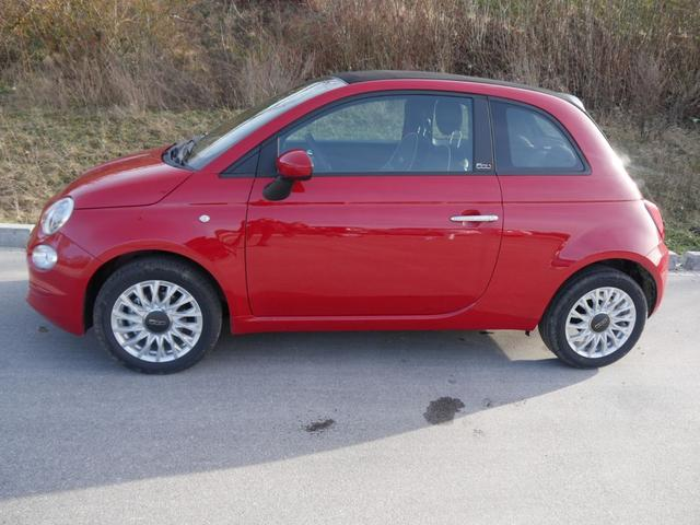 Fiat      500C Hybrid 1.0 GSE N3 LOUNGE * UCONNECT LIVE-& LINK-SYSTEM PDC TEMPOMAT DACH SCHWARZ