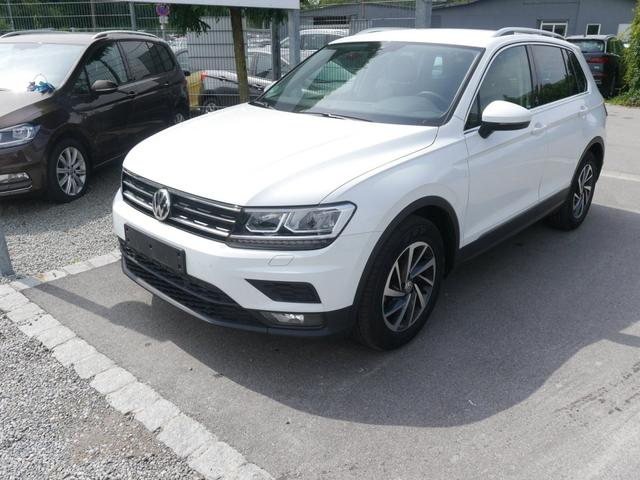 Gebrauchtfahrzeug Volkswagen Tiguan - 1.4 TSI ACT DSG SOUND   BUSINESS PREMIUM-PAKET ACC NAVI LED PDC SHZG
