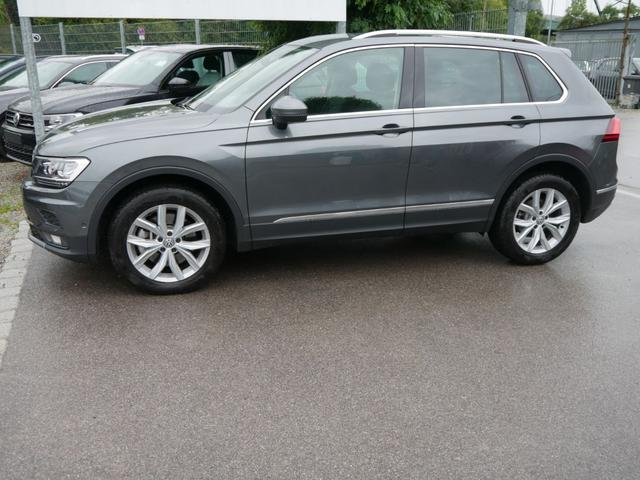 Gebrauchtfahrzeug Volkswagen Tiguan - 2.0 TSI DSG 4MOTION HIGHLINE   BUSINESS-PREMIUM NAVI PARK ASSIST ACTIVE INFO DISPLAY