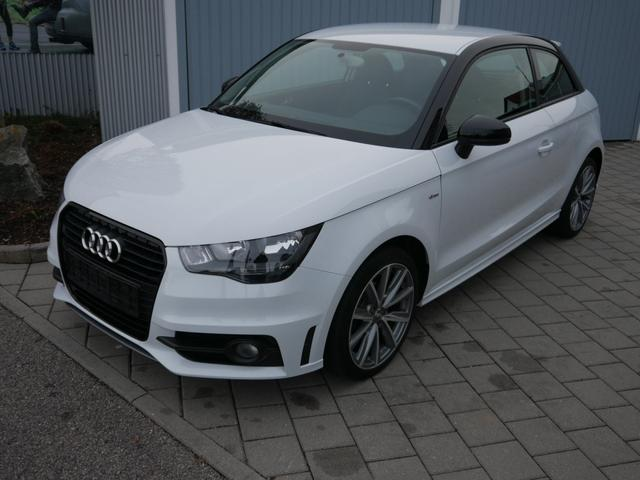 Audi A1      1.2 TFSI ATTRACTION * S-LINE EXTERIEURPAKET OPTIKPAKET SCHWARZ SITZHEIZUNG LM-FLEGEN 17 ZOLL