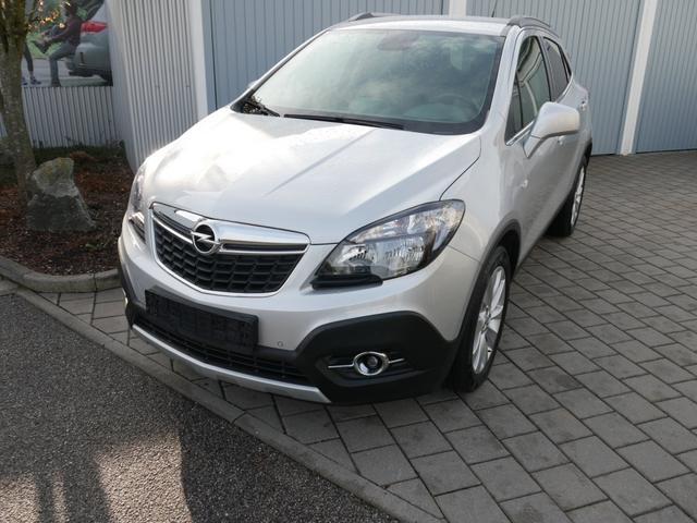 Gebrauchtfahrzeug Opel Mokka - 1.6 CDTI DPF COSMO 4x4   AHK NAVI WINTERPAKET 18 ZOLL PDC SHZG LENKRADHEIZUNG