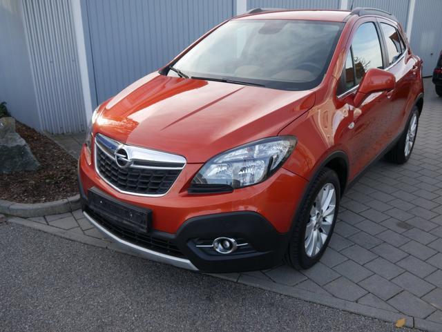 Gebrauchtfahrzeug Opel Mokka - 1.6 CDTI DPF COSMO 4x4   AHK NAVI WINTERPAKET PDC SHZG LENKRADHEIZUNG