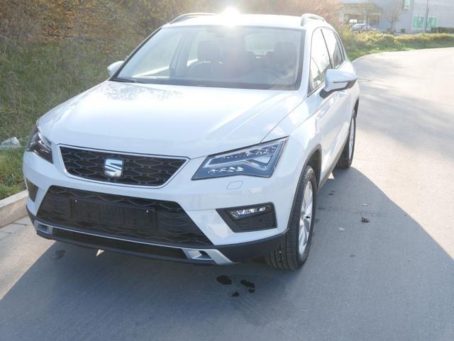 Gebrauchtfahrzeug Seat Ateca - 1.5 EcoTSI DSG ACT STYLE   4DRIVE NAVI VOLL-LED PARKLENKASSISTENT SHZG 17 ZOLL