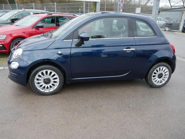 Lagerfahrzeug Fiat 500 - 1.2 8V LOUNGE   5-JAHRE GARANTIE UCONNECT LIVE & LINK-SYSTEM TEMPOMAT KLIMA 15 ZOLL