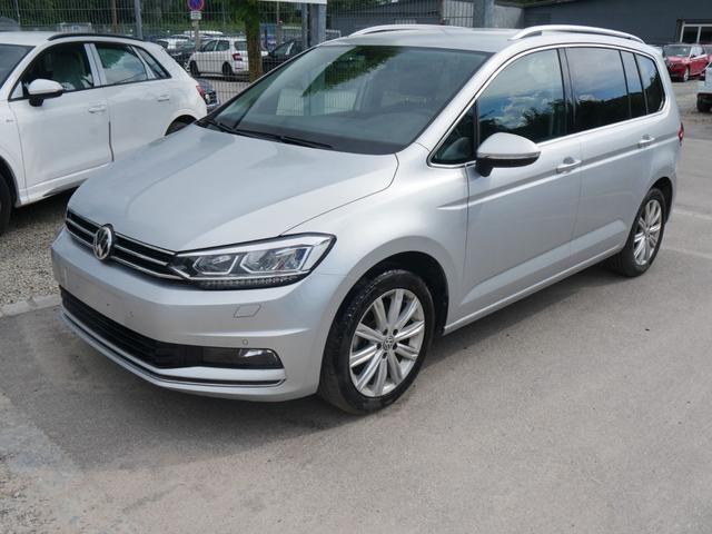 Gebrauchtfahrzeug Volkswagen Touran - 1.5 TSI ACT DSG HIGHLINE   BUSINESS PREMIUM LED ACC NAVI KAMERA 7-SITZER