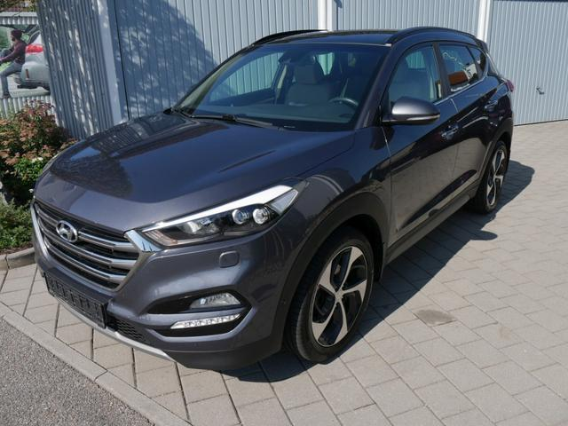 Hyundai Tucson      2.0 CRDI DPF PREMIUM 4WD * AUTOMATIC LEDER PANORAMA-SD PARK-ASSISTENT