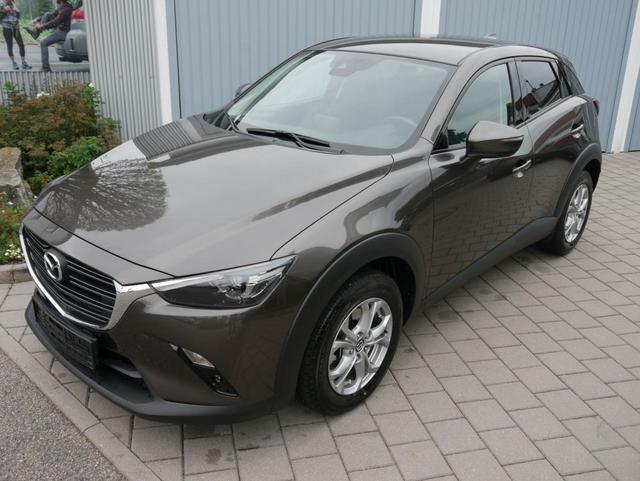 Gebrauchtfahrzeug Mazda CX-3 - SKYACTIV-G 121 FWD EXCLUSIVE-LINE   NAVI VOLL-LED PDC SITZHEIZUNG TEMPOMAT