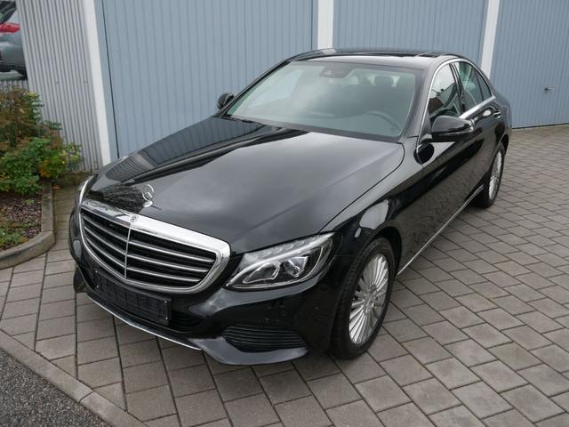Mercedes-Benz C-Klasse      C 180 CGI EXCLUSIVE 9G-TRONIC * NAVI LED HIGH PARK-ASSIST SITZHEIZUNG EL.SCHIEBEDACH