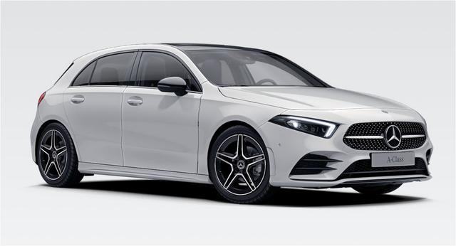 Mercedes-Benz A-Klasse A 250 AMG LED+PANO+Widescreen+MBUX+AR+Navi+W177