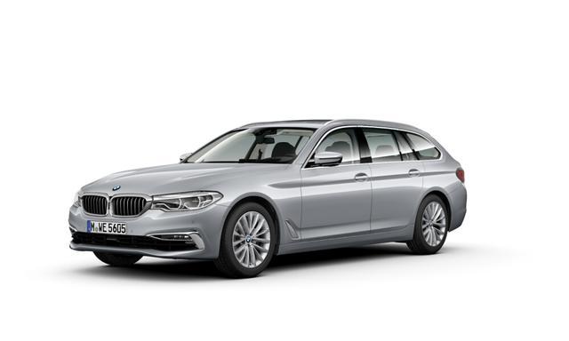 BMW 5er 520d Touring Automatik Komf Sitze AHK LED Head-Up Navi