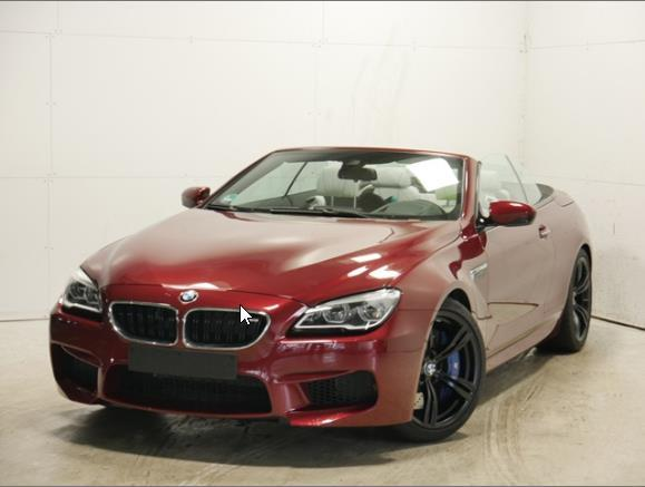 BMW M6 - Cabrio Competition P. Head-Up B&O HiFi DAB
