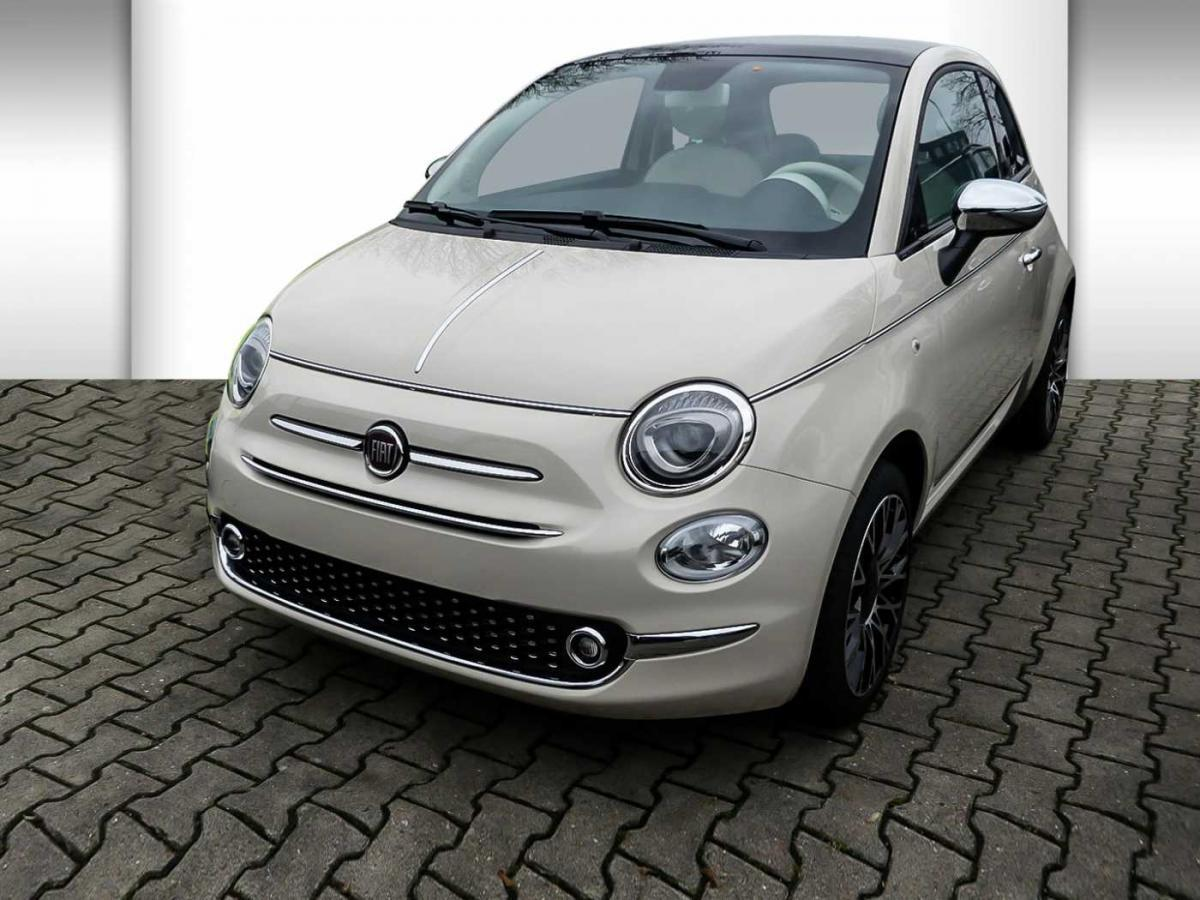 fiat 500 1 2 8v collezione pdc klima sondermodell leasing ohne anzahlung. Black Bedroom Furniture Sets. Home Design Ideas