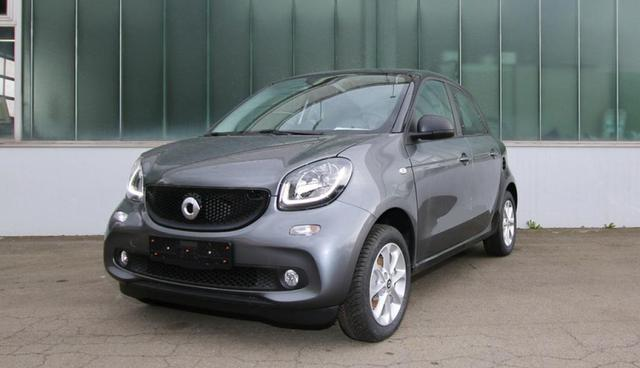 Smart ForFour - 52 KW TWINAMIC COOL & AUDIO-PAKET