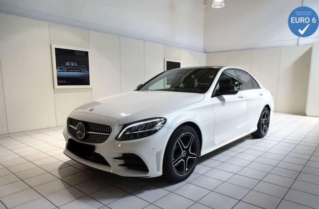 Mercedes-Benz C-Klasse C 220 d AMG LED+NIGHT+PANO+NAVI+WIDESCREEN+KAMER
