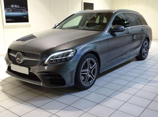 Mercedes-Benz C-Klasse C 220 d AMG LED+NIGHT+PANO+KAMERA+KEYLESS+PTS+Sp