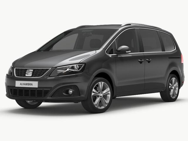 Seat Alhambra - XCELLENCE 1.4 TSI 110 kW (150 PS) 6-Gang Bi-Xenon Media System Plus mit Navigationsfunktion