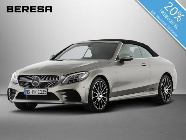 Mercedes-Benz C-Klasse - C 180 Cabriolet AMG Sitzklima Burmester LED