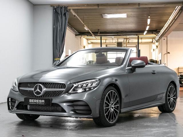 Mercedes-Benz C-Klasse - C 180 Cabriolet AMG Kamera Burmester LED Sitzkli