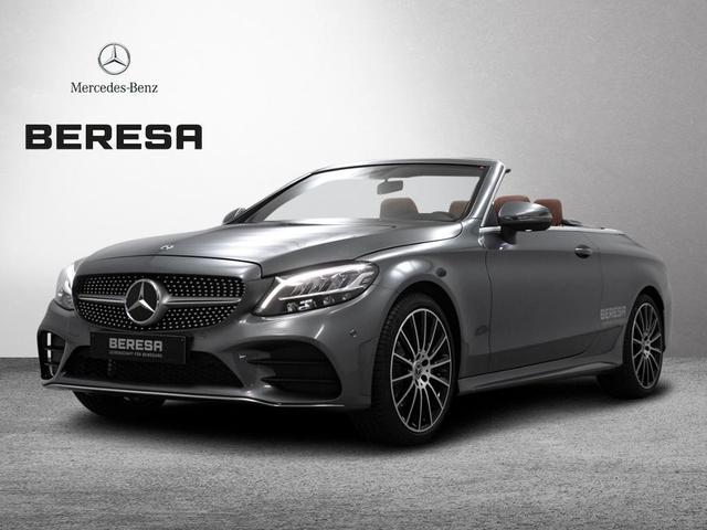 Mercedes-Benz C-Klasse - C 180 Cabriolet AMG Sitzklima Burmester LED Navi