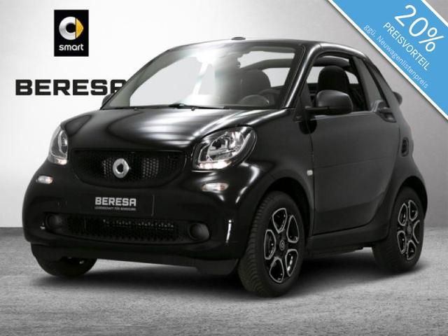 Smart ForTwo cabrio 66kW turbo twinamic passion cool&a
