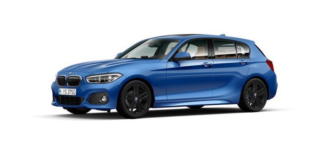 BMW 1er 120d 5-Türer M Sport Navi LED AHK Kamera S-Dach