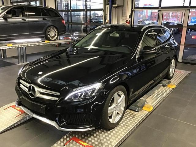 Mercedes-Benz C-Klasse - C 200 d T AMG Pano Kamera LED Navi PDC Spiegel-P