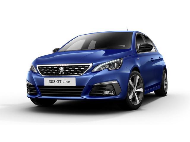 Peugeot 308 - Allure inkl. GT-Line-Paket 5-Türer 1.2l PureTech 130 STOP & START 8-Stufen-Automatik