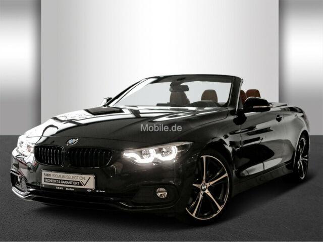 BMW 4er 430i Cabrio Sport Line Innovationsp. Navi Prof.