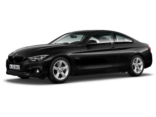 BMW 4er - 420d Coupé Sport Line Head-Up HiFi LED GSD RTTI EURO 6