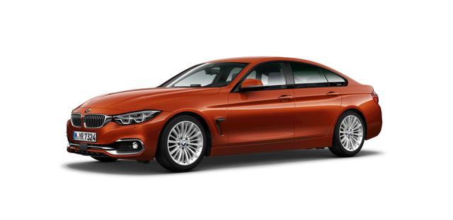 BMW 4er 430d Gran Coupé Luxury Line LED HuD Navi ACC