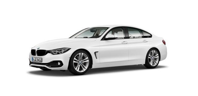 BMW 4er Gran Coupe - 420dA Coupé Sport Line Navi AHK Kamera LED