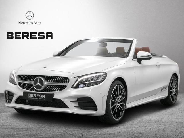 Mercedes-Benz C-Klasse - C 180 Cabrio AMG Kamera Burmester LED Sitzkl.