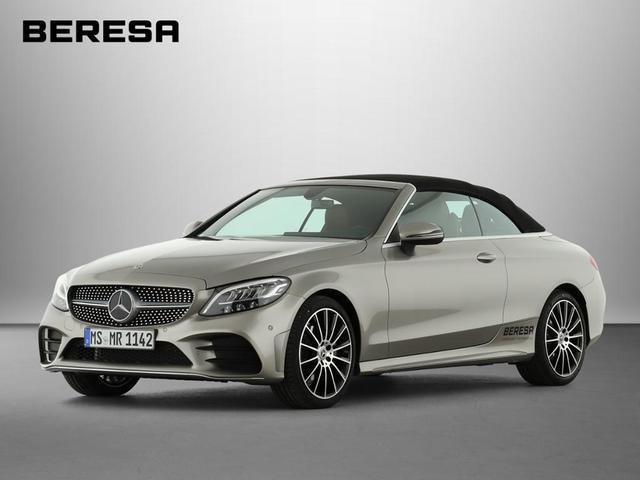 Mercedes-Benz C-Klasse C 180 Cabrio AMG Sitzklima Burmester LED Navi