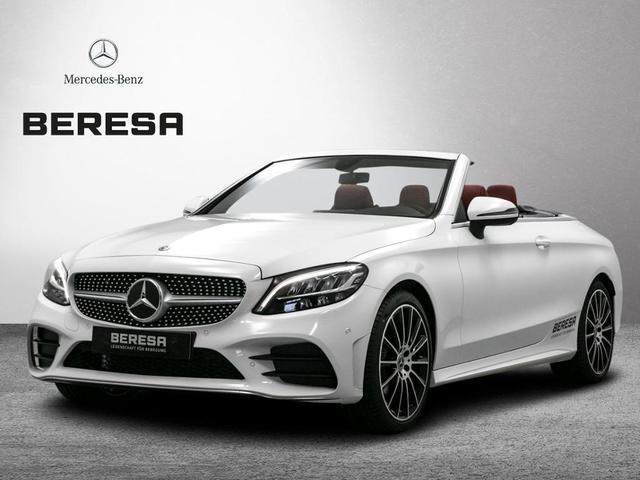 Mercedes-Benz C-Klasse C 180 Cabrio AMG Burmester Sitzklima Navi LED