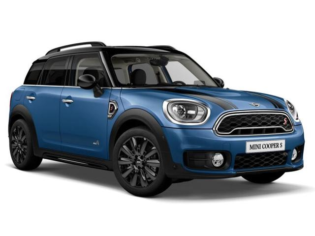 Mini Countryman - John Cooper Works ALL4 Chili Head-Up
