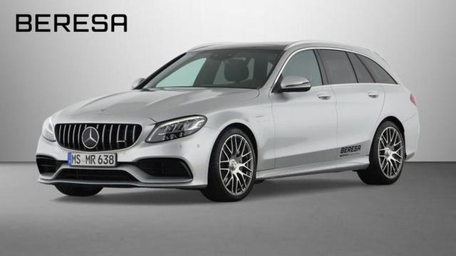 Mercedes-Benz C-Klasse C 63 AMG T Burmester Fahrassist. Pano.-Dach LED