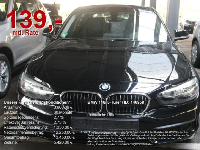 BMW 1er - 116i 5-Türer  WIR SIND FÜR SIE DA
