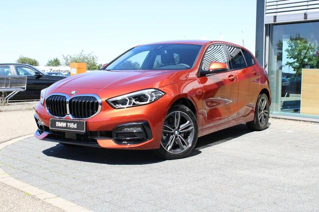 BMW 1er 118d Sport Line Sportsitze/Navi/LED/PDC/DAB